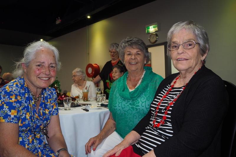 Helen Mulligan, Dorothy Mashman and Wendy Casey.