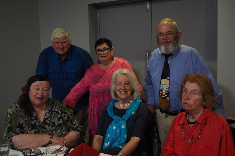 Back: Kevin Thurtell, Lynn Tait and Peter Morgan. Front: Jennifer Edmonds, Sheila Murray and Cathie Stewart.