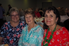 Heather Rendell, Helen Simmons and Anne Denmead.