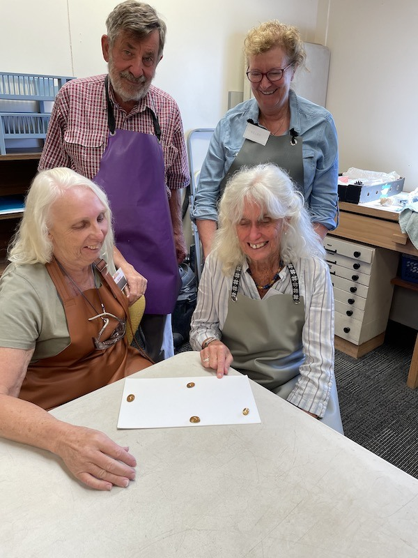 Lapidary class March 2021
