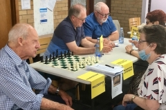 Brian Sherman (Metaphysics), John Schache (Chess) and Michael Maher (First Aid)