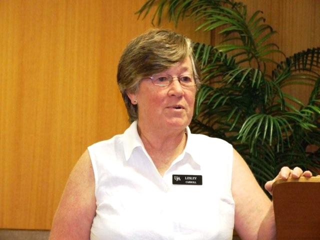 Lesley Carroll - tutor of Cryptic Crosswords