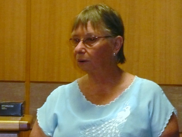 Tutor Gloria Rogers