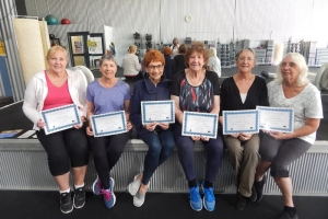 Tai Chi Certificate Winners